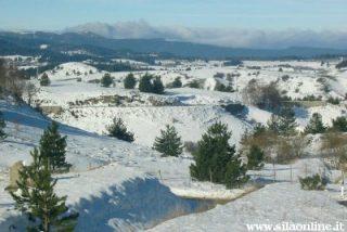 Località San Nicola. Paesaggio invernale