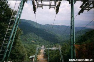 Impianti di risalita sul monte Botte Donato