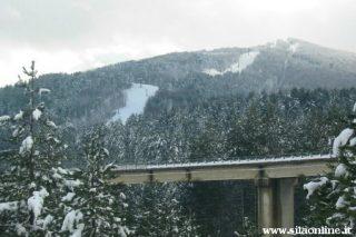 Piste di sci sul monte Curcio a Camigliatello Silano