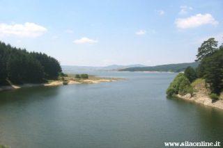 Scorcio del lago Cecita