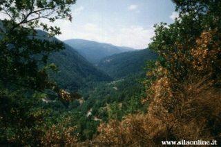 Valle del fiume Lese vicino Savelli