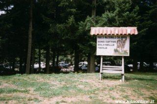 Centro Visitatori di Cupone. Area pic-nic
