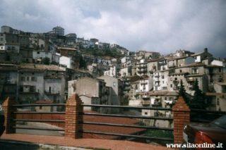 San Giovanni in Fiore (cs). Scorcio del centro storico.