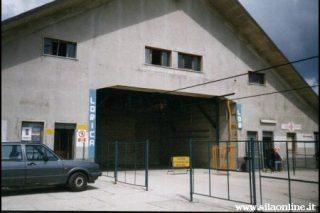Monte Botte Donato. Stazione di arrivo della cabinovia.