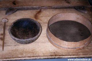 Vecchi manufatti in legno