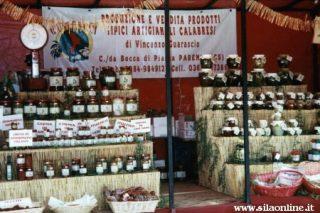Prodotti tipici in vendita a Lorica