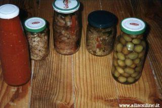 Tradizionali conserve silane